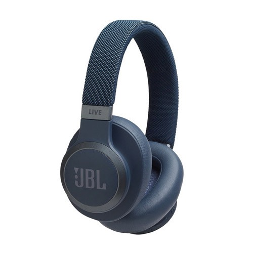 JBL Wireless Over-Ear Headphones Live 650BTNC - Blue