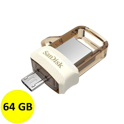 Sandisk Ultra Dual Drive m3.0 64GB - Gold Edition