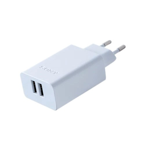 Sony USB AC Adaptor with Two Ports CP-AD2M2 - White