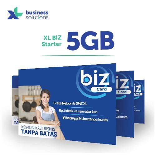 Kartu perdana XL BIZ Starter 5GB