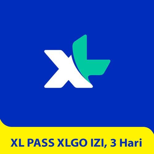 XL PASS XLGo IZI, 3 hari