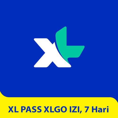 XL PASS XLGo IZI, 7 hari