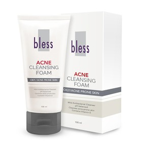 Bless Acne Cleansing Foam 1