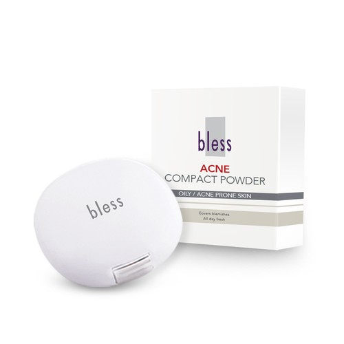 Bless Acne Compact Powder Ivory 18 gr