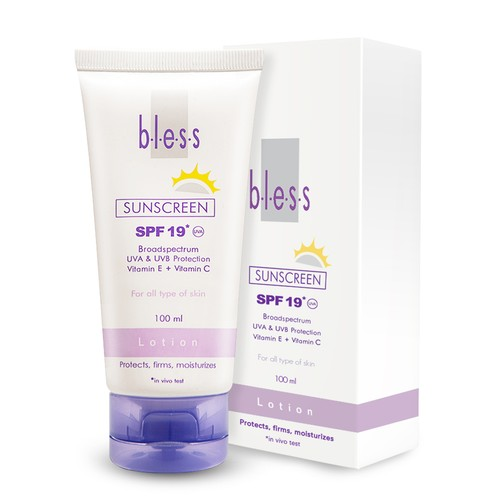 Bless Sunscreen Lotion 100 ml