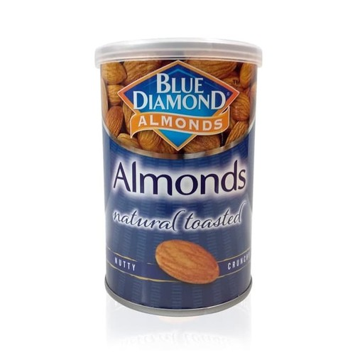 Blue Diamond Unsalted Roasted Kacang Almond 130 gr
