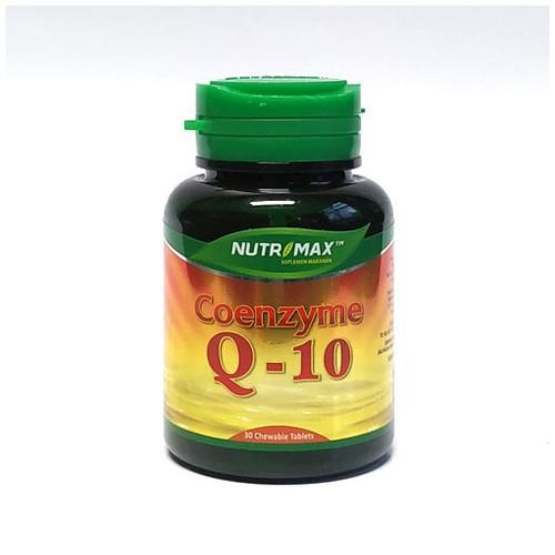 Nutrimax - COENZYME Q 10  (30 Tablet Kunyah)