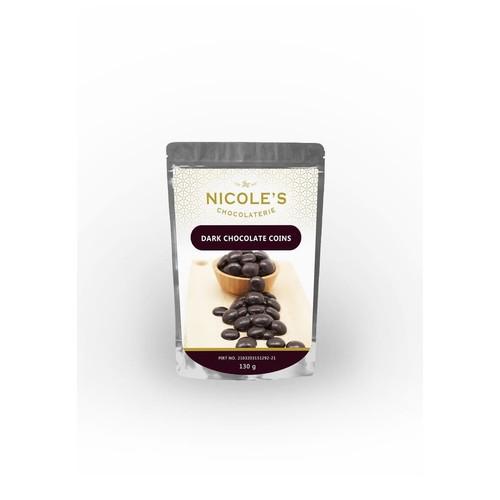 Nicole's Coins Dark Chocolate