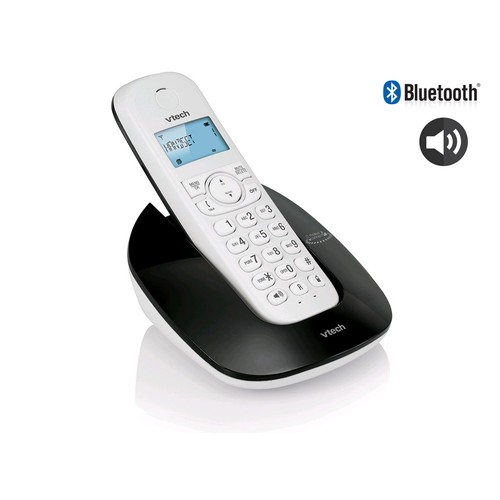 VTECH Telepon Wireless/Cordless Phone ES1610A - Classic Black