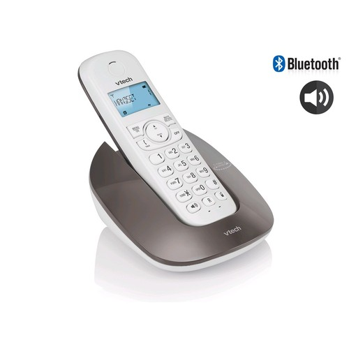 VTECH Telepon Wireless/Cordless Phone ES1610A - Gray/Mole