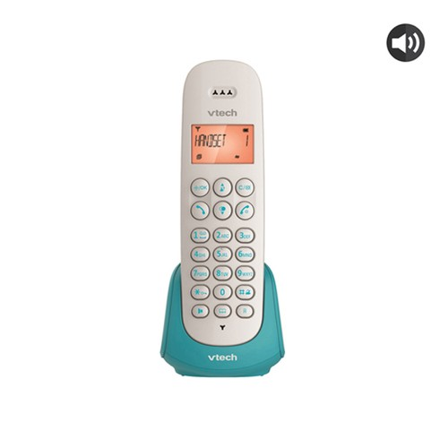 VTECH Telepon Wireless/Cordless Phone ES2510A - Blue/Turquiose