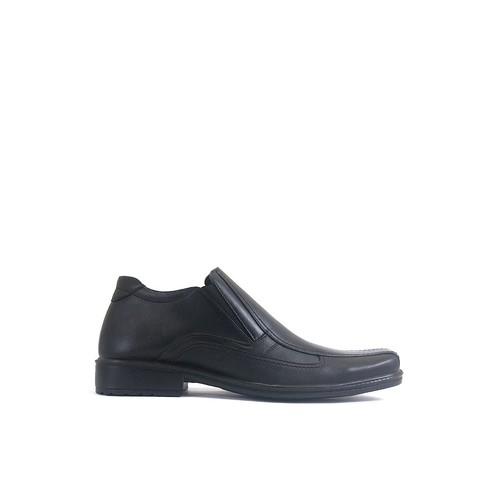 JAVA SEVEN SEPATU FORMAL KULIT hitam PRIA Size - 39