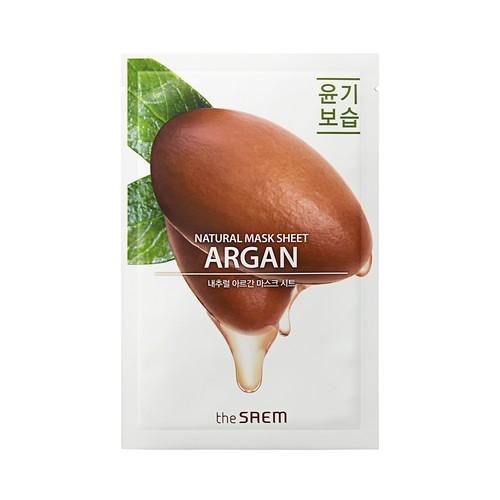 The Saem - Natural Argan Mask Sheet