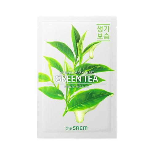 The Saem - Natural Green Tea Mask Sheet