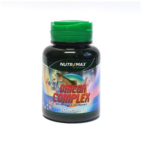 Nutrimax - OMEGA COMPLEX 8 IN 1 (30 Softgel)