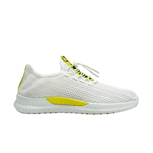 Dane And Dine Sneakers Man S0111 White Yellow 41