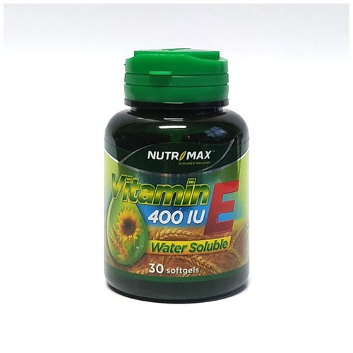 Nutrimax - VITAMIN E 400 IU WATER SOLUBLE (30 Softgel)
