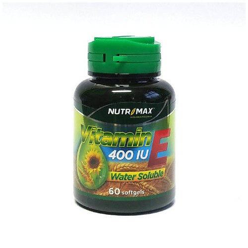 Nutrimax - VITAMIN E 400 IU WATER SOLUBLE (60 Softgel)