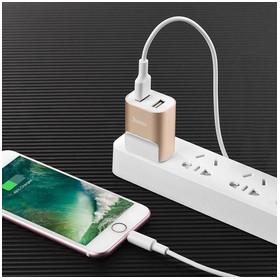 Hoco C47A Metal Dual USB Po
