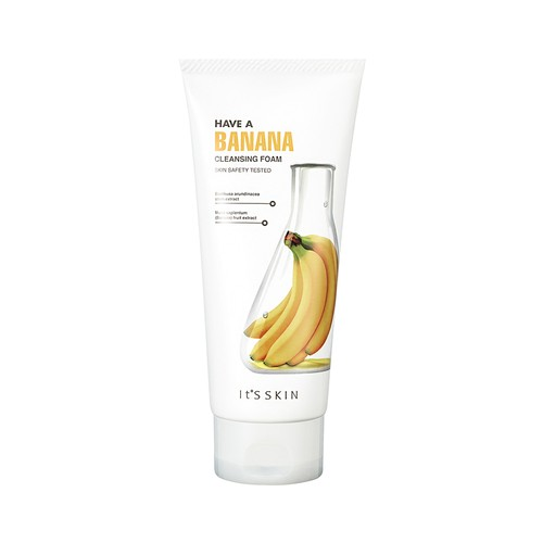 Its Skin Have a Banana Cleansing Foam