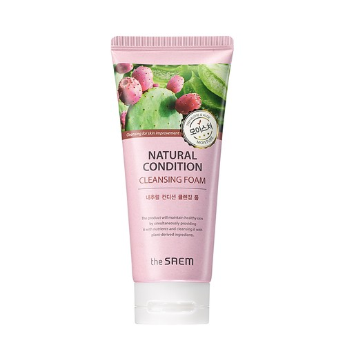 The Saem - NATURAL CONDITION Cleansing Foam [Moisture]