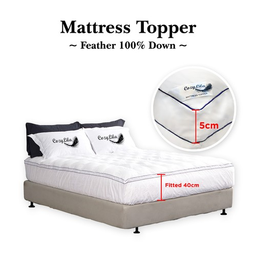 Mattress Topper Bulu Angsa 100% Down 120x200