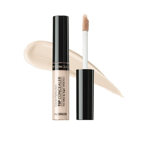 The Saem - Cover Perfection Tip Concealer 0.5 Ice Beige