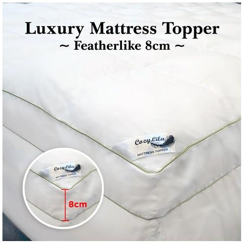 Mattress Topper Bulu Angsa Featherlike 8cm 180x200