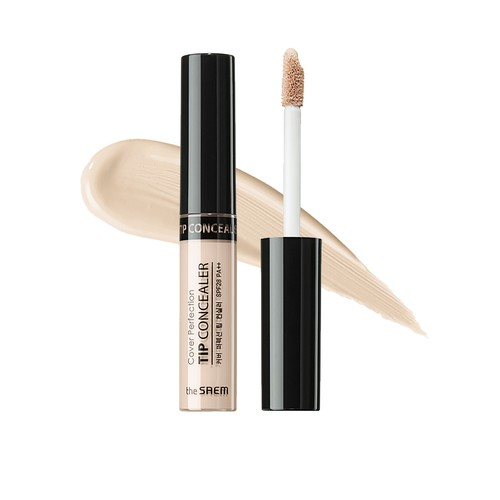 The Saem - Cover Perfection Tip Concealer 01. Clear Beige