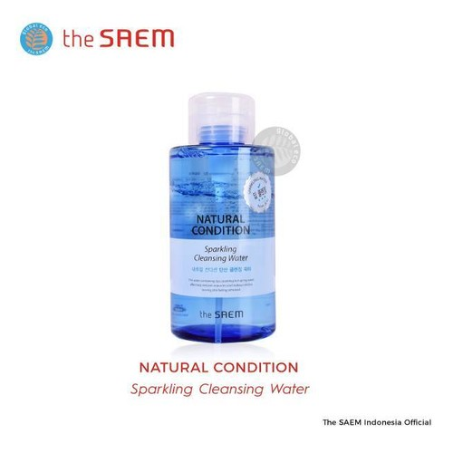 The Saem - Natural Condition Sparkling Cleansing Water 500 ml