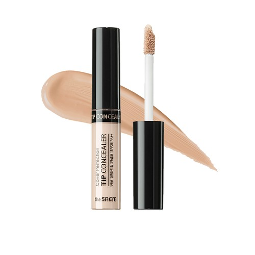 The Saem - Cover Perfection Tip Concealer 02. Rich Beige