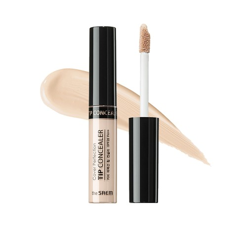 The Saem - Cover Perfection Tip Concealer 1.25 Light Beige