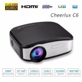 CHEERLUX C6 HD Mini LED Pro