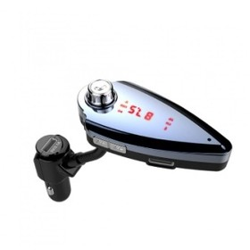 T6S Car Charger Adapter Blu
