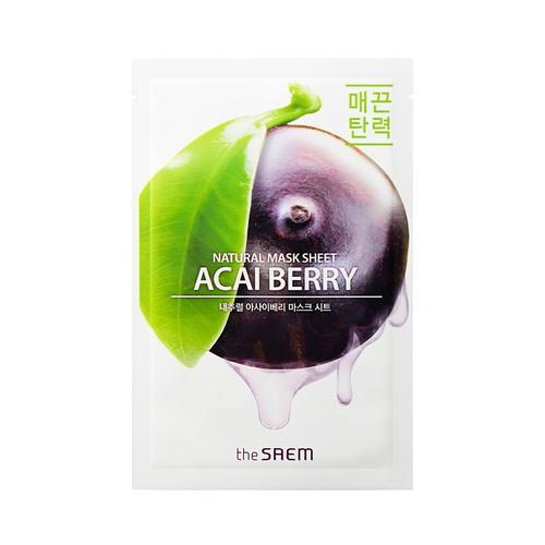 The Saem - Natural Acai Berry Mask Sheet