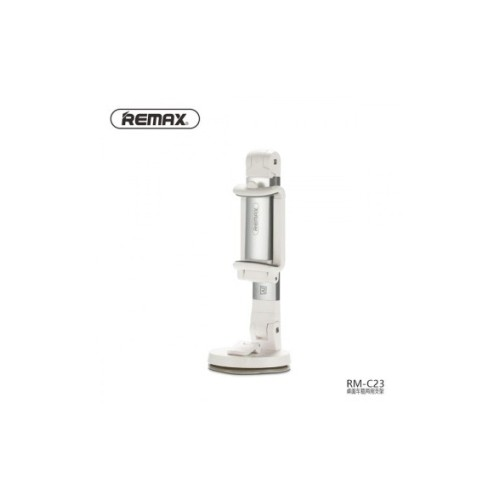 REMAX Multi-Angle Rotation Car Desktop Mount Holder Stand for Mobile Phone RM-C23 Silver [TKU]