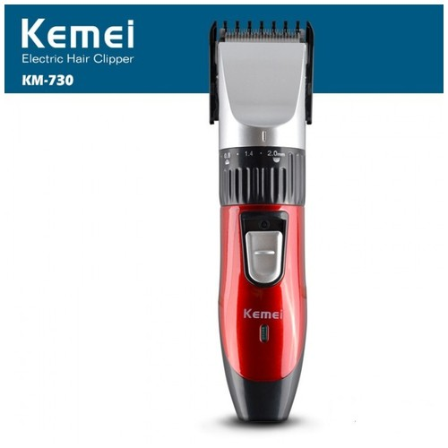 KEMEI KM-730 Rechargeable Wireless Hair Clipper Professional Shaving Machine Razor Barber Cutting Beard [TKU]