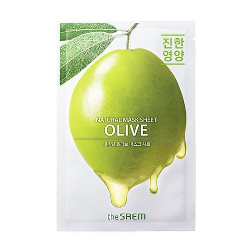 The Saem - Natural Olive Mask Sheet