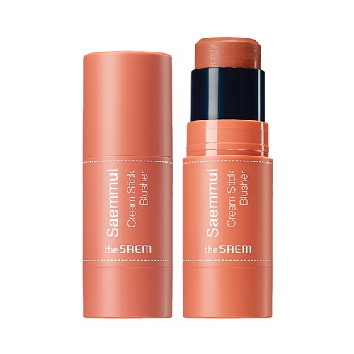 The Saem - Saemmul Cream Stick Blusher OR01 Hello Orange
