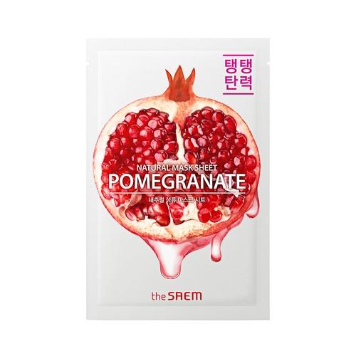 The Saem - Natural Pomegranate Mask Sheet