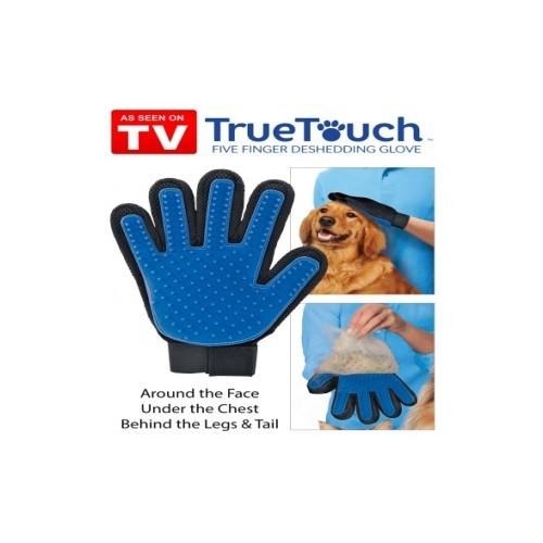 True Touch Five Finger Pet Deshedding Glove - As Seen On TV [TKU]