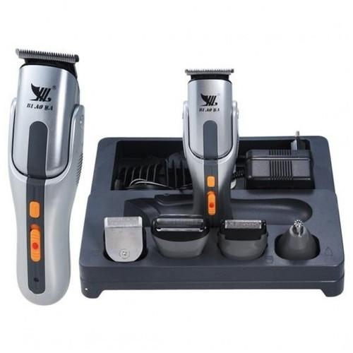 Kemei Rechargable Professional 8 in 1 Grooming Kit Shaver Clipper Hair Stylist Trimmer - KM-680A - Pencukur Bulu Rambut Praktis [TKU]