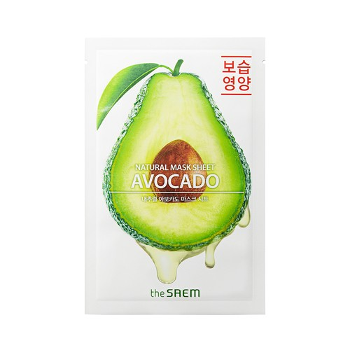 The Saem - Natural Avocado Mask Sheet