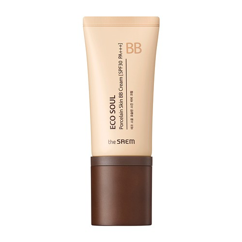The Saem - Eco Soul Porcelain Skin BB Cream 01 Light Beige
