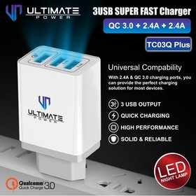 Ultimate 3USB Super Fast Ch