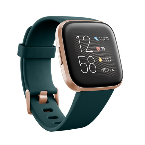 Fitbit Versa 2 - Emerald / Copper Rose