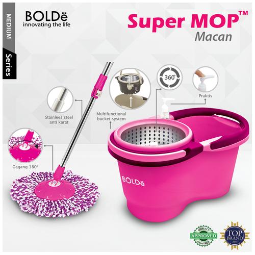 BOLDe Super Mop Macan - fuchsia