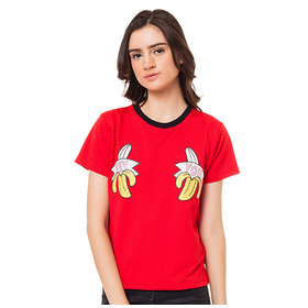 Boontie Hey You Tshirt Red