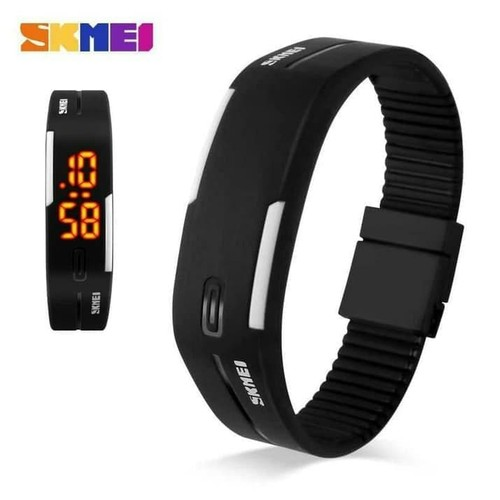 SKMEI 1099 LED Original Water Resist - Hitam