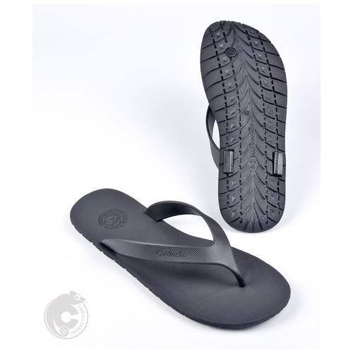 Camou Sandal Jepit Flipflop Pria Art WR - Hitam 44